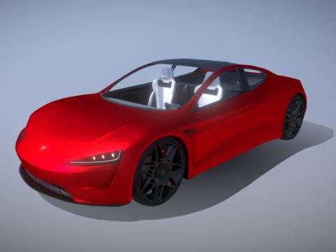 Tesla roadster 2020 (interior) 2.0