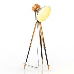 Torchere Lamp spot 3d model