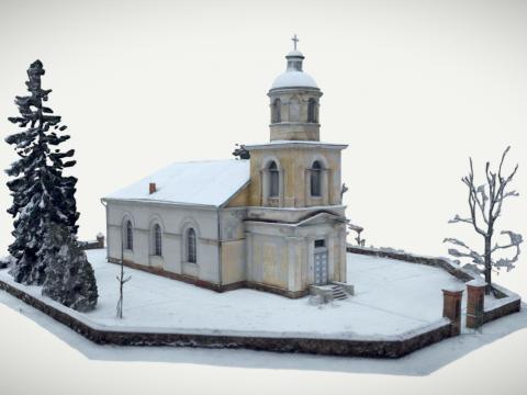 Sunākstes Baltā baznīca