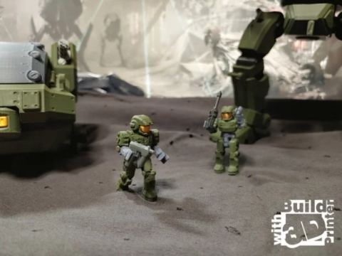 2 inch Action Figure for Heavy Walkers