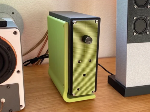 4-Ch DSP Amplifier Enclosure for Dayton Audio