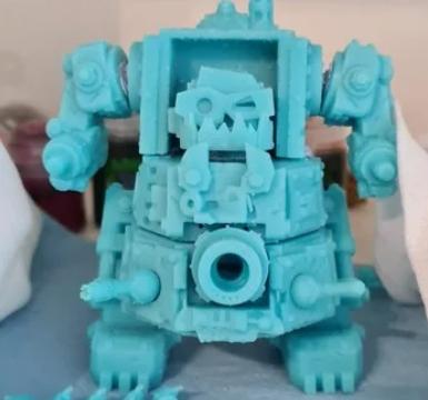 6mm Tiny Orky Gargantuan Robot