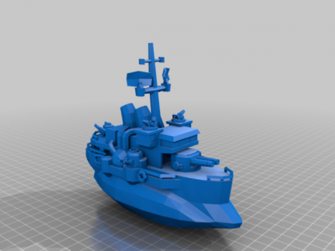 Anglo Battleship - Battalion Wars