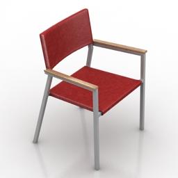 Armchair merry price beta outdoor chair 3d model
