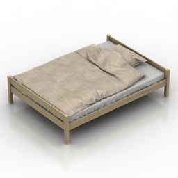Bed Jysk Price Star 3d model