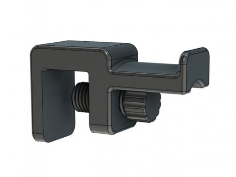 Bed Mount Headphone Holder