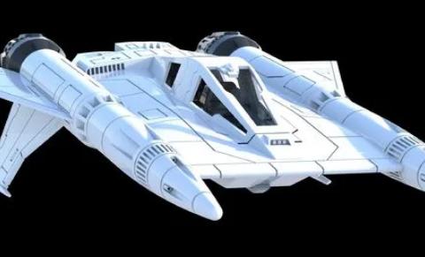 Buck Rogers Starfighter Thunderfighter