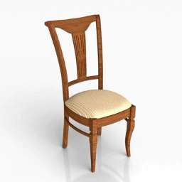 Chair Classic DT 3d model