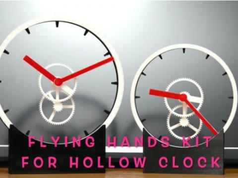 Levitating? Flying hands kit for Hollow Clock