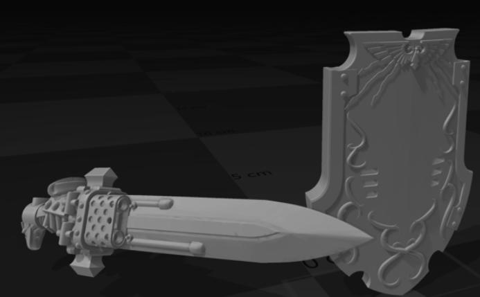 Interstellar Janitor XL Sword and Board