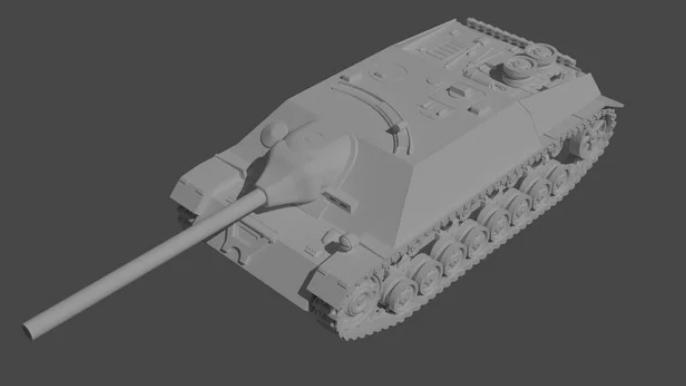 Jagdpanzer IV L/70 1:56 Scale
