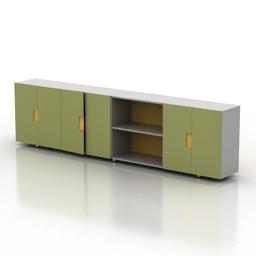Locker Ikea 3d model