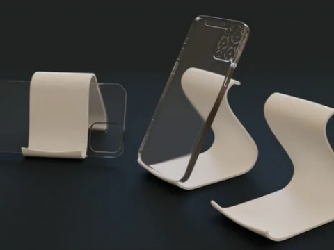 No fuss smartphone stand