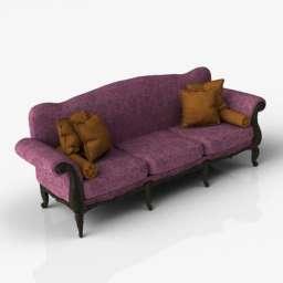 Sofa-CH11 3d model