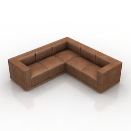 Sofa Cosmorelax Norris 3d model