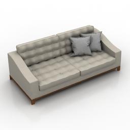 Sofa Medea Bond Divano Art5536E 3d model