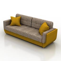 Sofa YL 3d model
