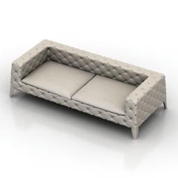 Sofa cosmorelax Borge Mogensen 3d model
