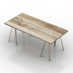 Table Daphne Oldwood 3d model