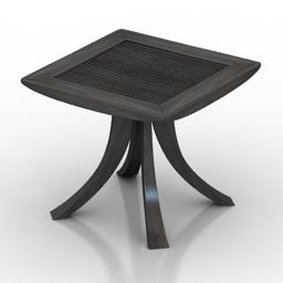 Table Samurai 3d model