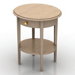 Table Tonin 4255 3d model