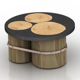 Table Woodlives 3d model