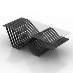 Table coffee Juana 3d model