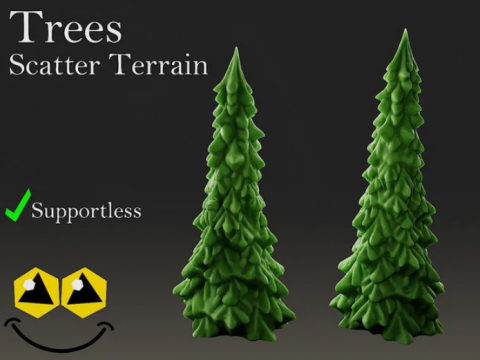 Trees - Tabletop Terrain