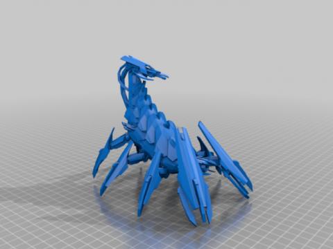 Epic scale Chaos Brass Scorpion - lp - dp
