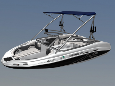 2008 212X Yamaha Wakeboard Boat