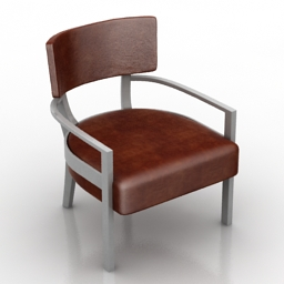 Armchair std 3d model