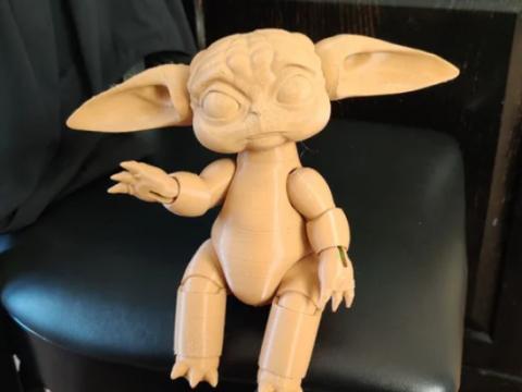 Baby Yoda BJD 2.0 Large