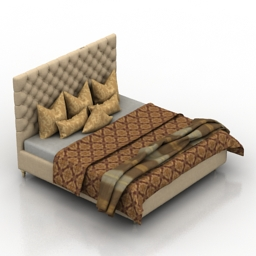 Bed Homemotions Just simple 3d model