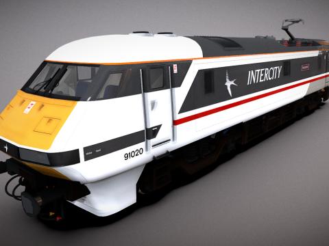 British Rail Class 91 Power Car
