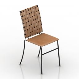 Chair Carina Side 3d model