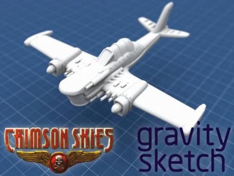 Crimson Skies - Grumman E-1C Avenger