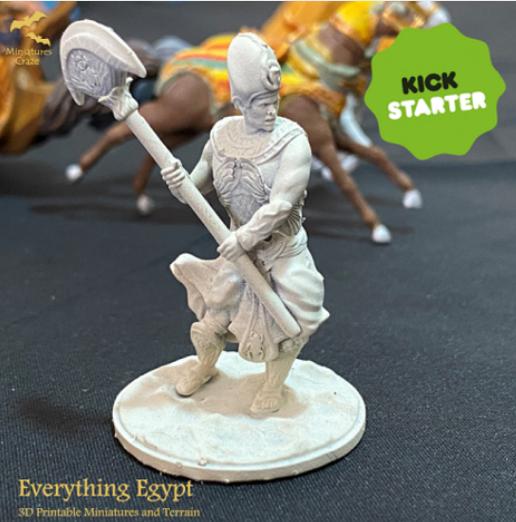 "Egyptian King - Free Mini from ""Everything Egypt"" Kickstarter Campaign"