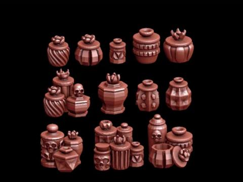 Fancy Jars