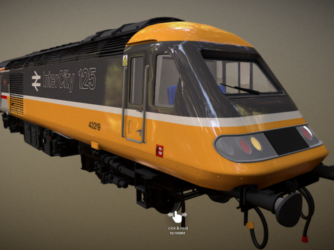 Intercity 125 Executive Livery With Buffers