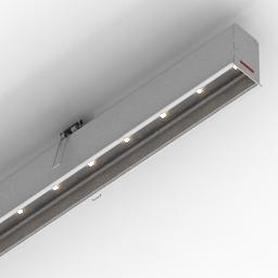 Lamp CORUS LED Energy 3d model