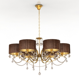 Luster Arte lamp Crystal Courtney 3d model