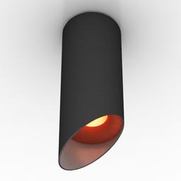 Luster Centrsvet nail 250 BW 3d model