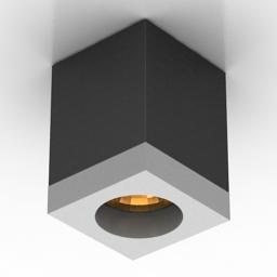 Luster SLV TIGLA SQUARE lamp spot 3d model