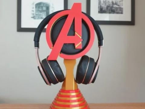 Marvel Avengers Echo Dot Headphone Stand