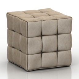 Seat leather 3d model