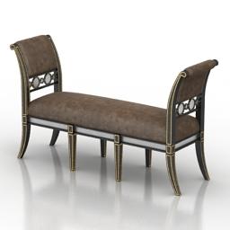 Sofa John Richard 3d model