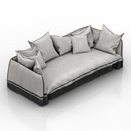 Sofa Minsk 3d model