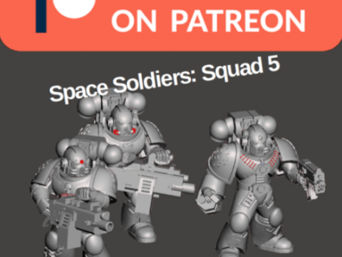 Space Soldiers of Squad 5