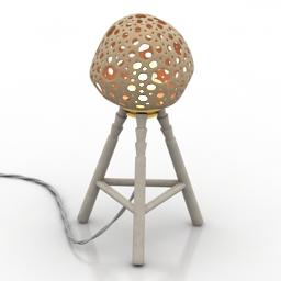 Torchere coconut 3d model