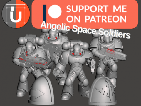 Angelic Space Soldiers